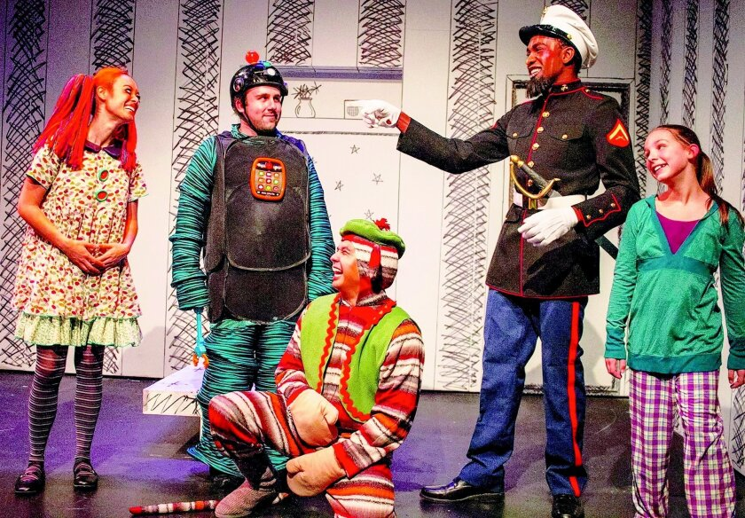 """A scene from New Village Arts' musical """"The Nutcracker."""""""