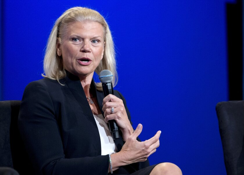 IBM CEO Virginia Rometty at a business event last year: Her buybacks haven't been good for the company, and not so great for shareholders either.