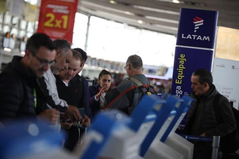 El Grupo Latam Airlines aumentará sus frecuencias de Medellín y Cali hacia Lima