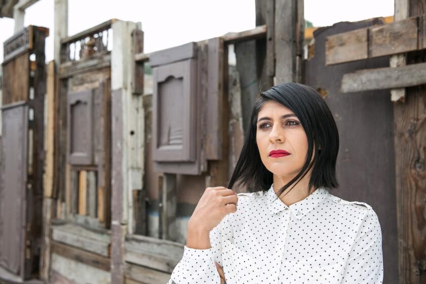 Artist Ingrid Hernandez captures a Tijuana of improvisation