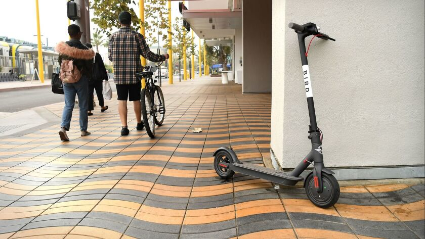 Bird scooter firm settles legal fight with Santa Monica
