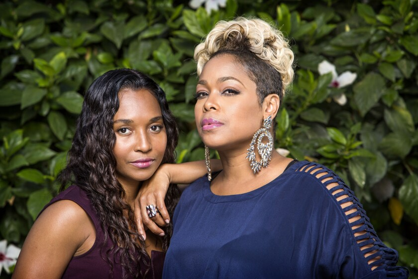 """TLC's Rozonda """"Chilli"""" Thomas and Tionne """"T-Boz"""" Watkins serve as executive producers of """"CrazySexyCool: The TLC Story,"""" a biopic on the triumphs and tragedies of one of the most successful girl groups in history that will air tonight on VH1."""