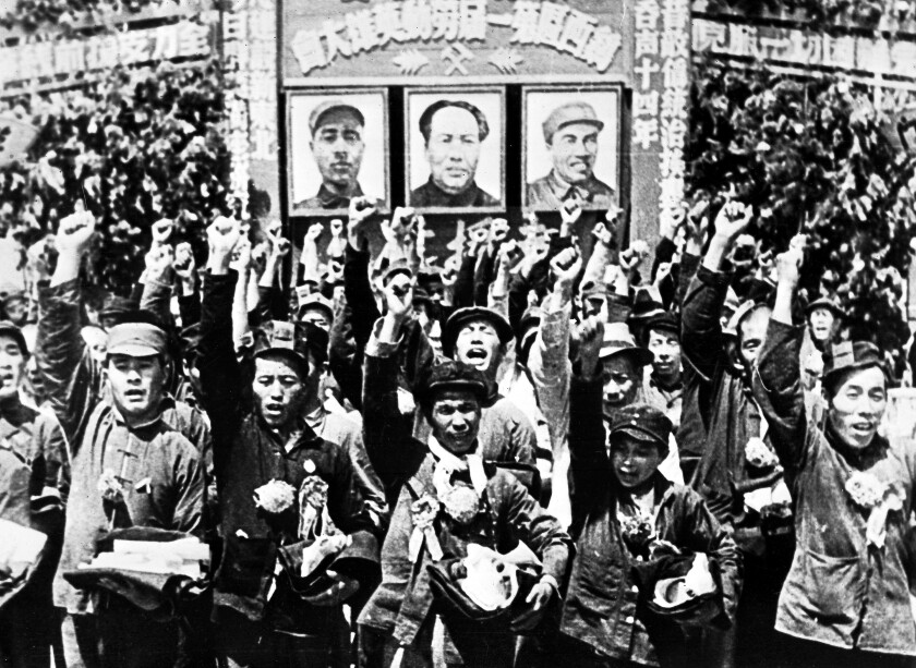 Communist forces in the capital