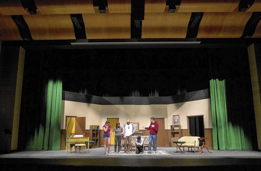 Costa Mesa High theater ready for first performance - Los