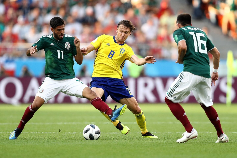 México vs Suecia