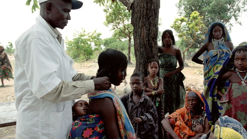 "Medical screening campaign for ""sleeping sickness"" in Chad"