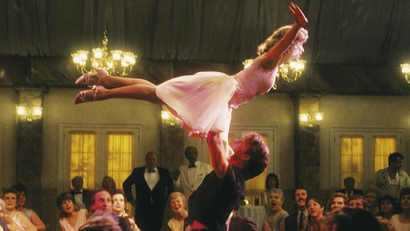 "A scene from ""Dirty Dancing."""