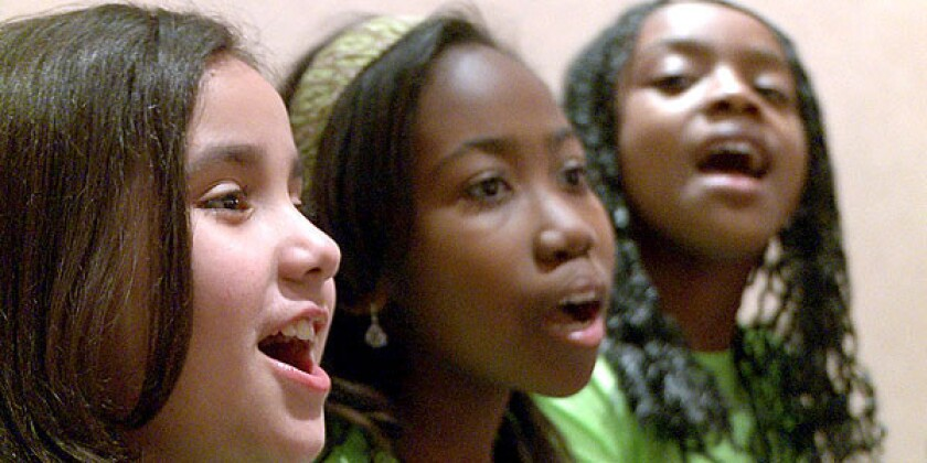 "In ""Once Upon a Lullaby,"" members of the PS22 Chorus rehearse before their big performance."