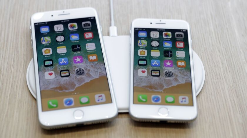 Apple iPhones are among the many gadgets whose lithium-ion batteries are sealed inside and difficult to remove.