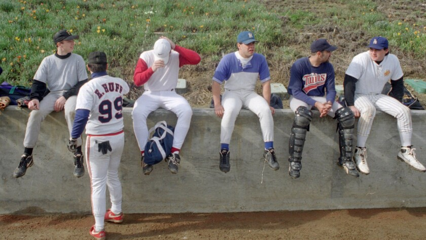 CALIFORNIA ANGELS REPLACEMENT PLAYERS