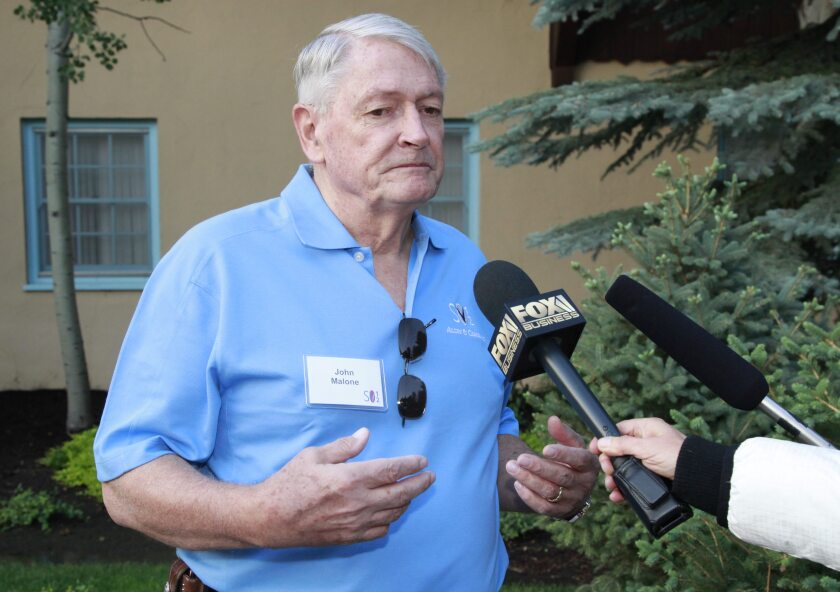 John C. Malone, chairman of Liberty Media Group