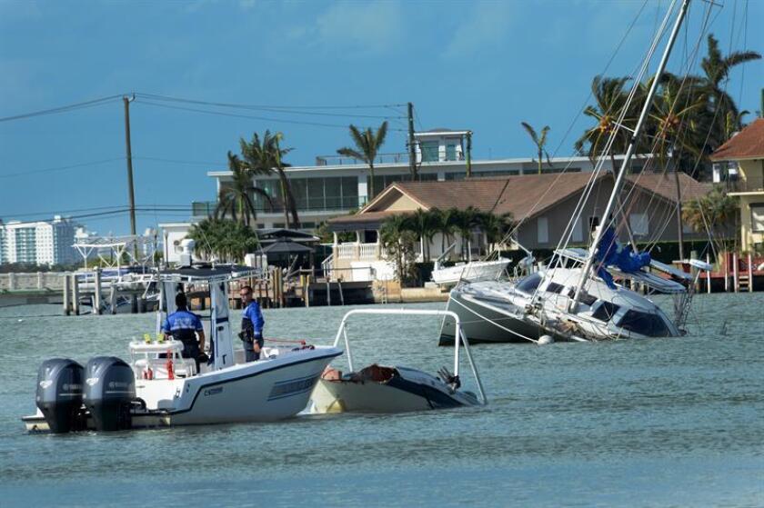 La costa oeste de Florida afectada por huracanes (EE.UU). EFE/Archivo