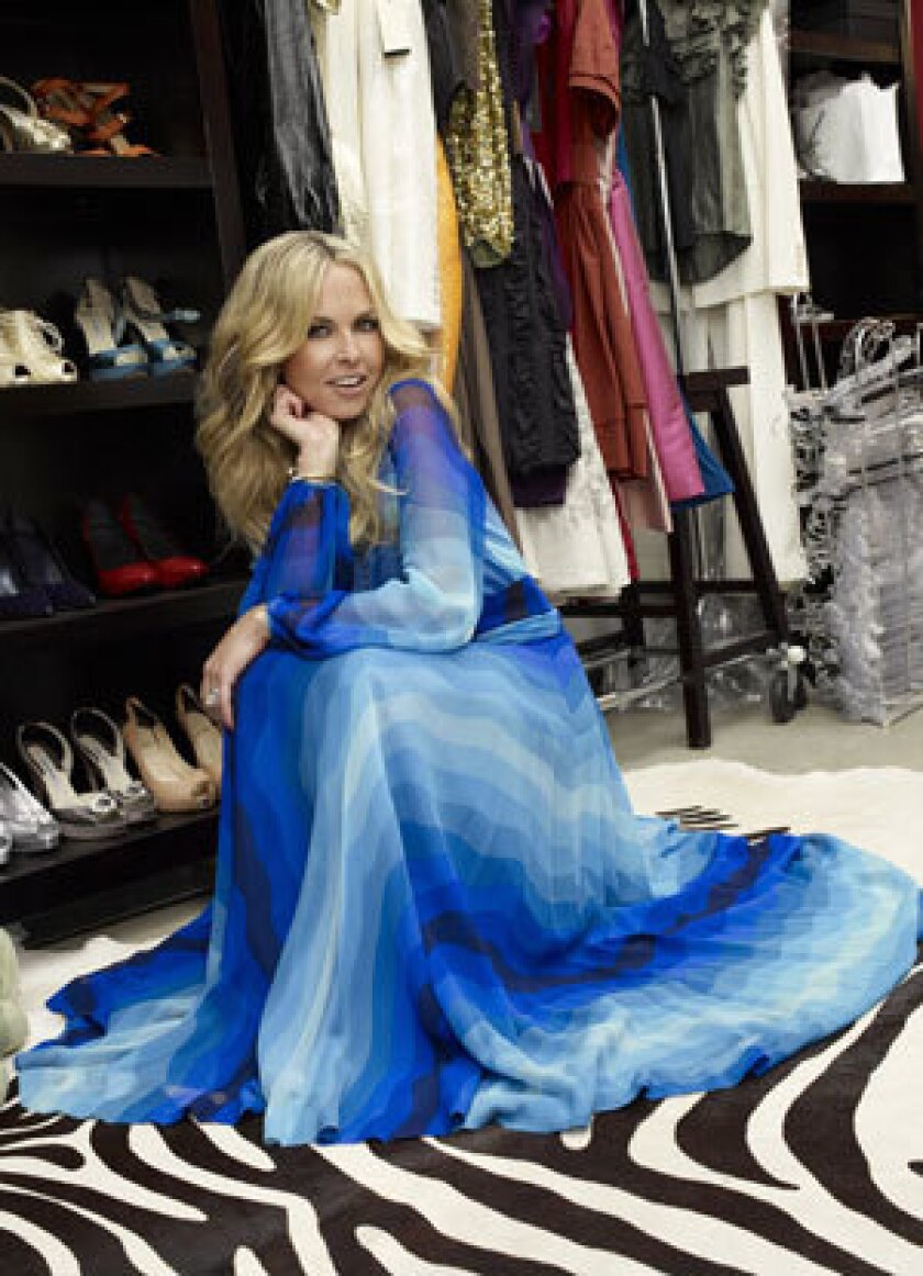 Rachel Zoe All Dressed Up And Ready For Her Reality Show Los Angeles Times