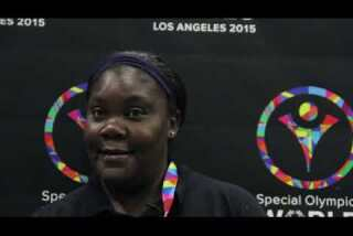 Bahamas athlete competing at Special Olympics for first time