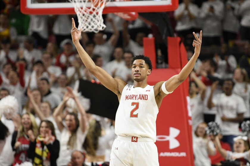 Maryland Seeks Another Banner After Tying For Big Ten Title The