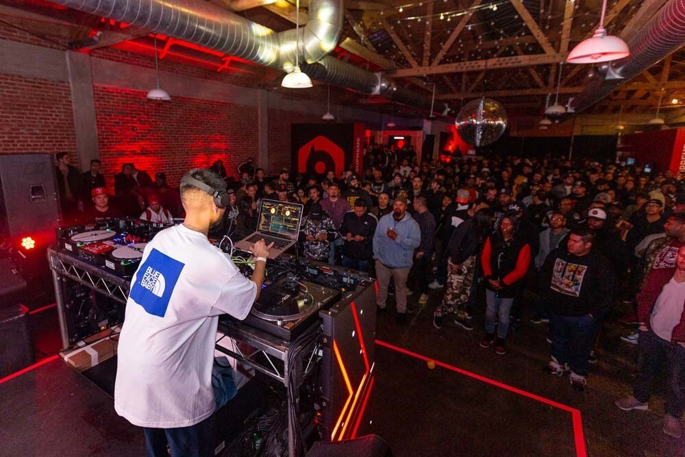 DJ Jazzy Jeff entertained the crowd at the BPM Supreme App Release Party at Sandbox in East Village on Thursday, March 7, 2019.