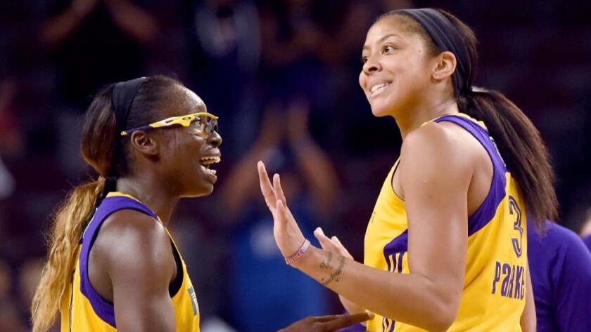 WNBA Finals: Sparks roll to victory over the Lynx, 92-75, in Game 3