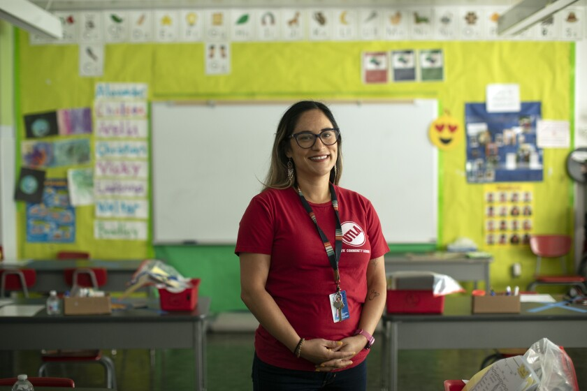 Jesenia Chavez is a kindergarten and first-grade teacher at UCLA Community School in Los Angeles.