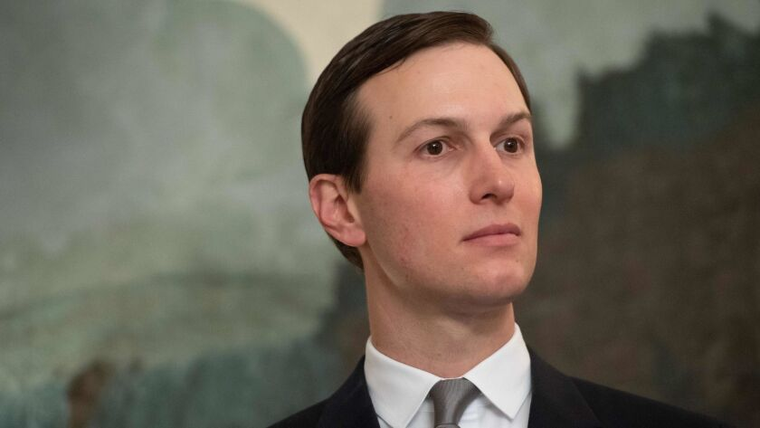 Jared Kushner identified as the White House official who was