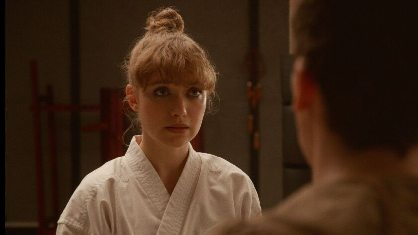 """Imogen Poots stars as """"Anna"""" in writer/director Riley Stearn's THE ART OF SELF-DEFENSE, a Bleecker"""