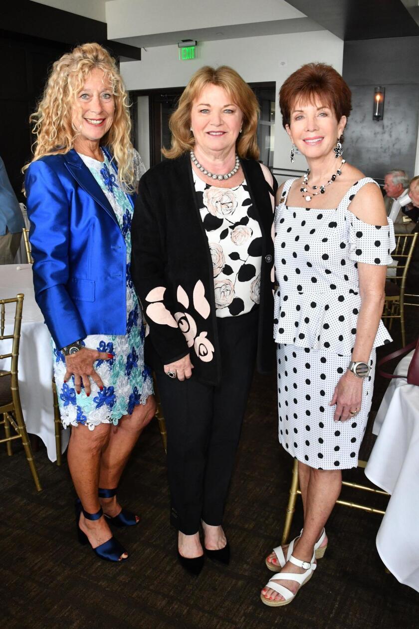 Lynne Krepak (NGoY gala co-chair), Debbie Turner, Kristy Gregg (past president)
