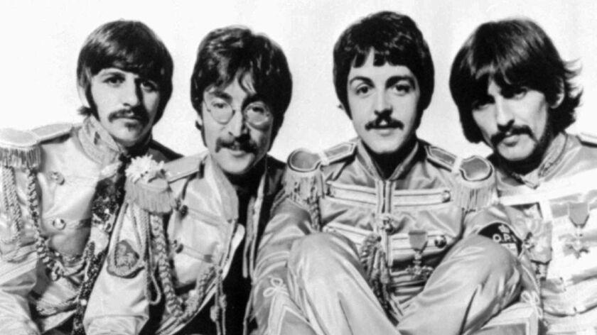 The Beatles — Ringo Starr, from left, John Lennon, Paul McCartney and George Harrison — in 1967.