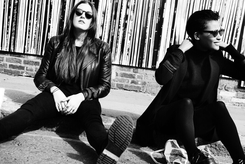 """The Swedish electro-pop duo Icona Pop released a new single, """"All Night."""""""