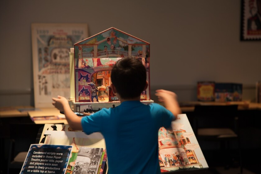 UC San Diego's 20th Annual Library Paper Theater Festival will be held Tuesday, August 17 online.