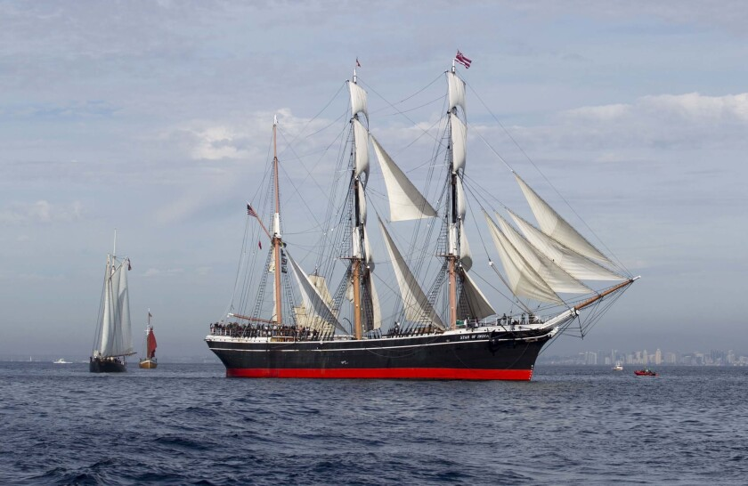 The Jewel of the Maritime Museum of San Diego, the Star of India