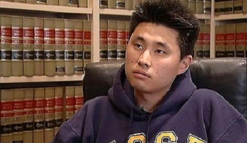 UC San Diego engineering student, Daniel Chong.