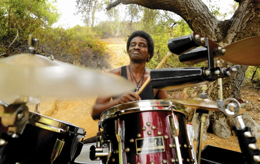 For former professional drummer Robin Russell, no gig tops Griffith Park