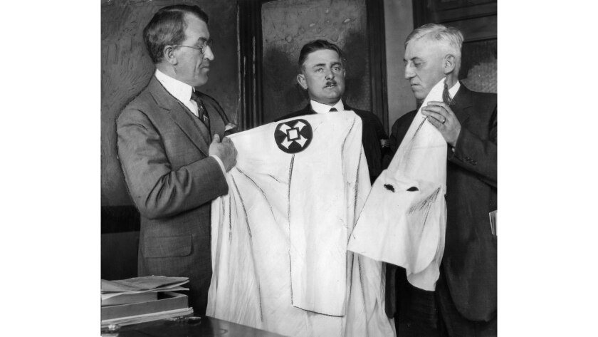 April 29, 1922: Dist. Atty. Nelson of Orange County, left, Dist. Atty. Gearhart of Fresno, center, a
