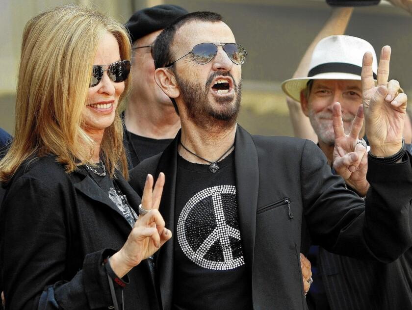 Ringo Starr's 74th birthday rocks peace, love and ...