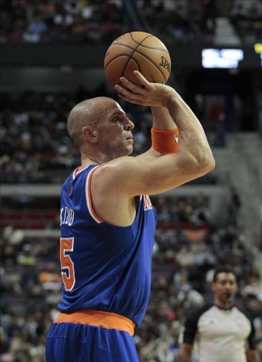 El jugador Jason Kidd de los Knicks de Nueva York. EFE/Archivo