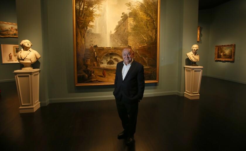 Curator J. Patrice Marandel at LACMA in 2017