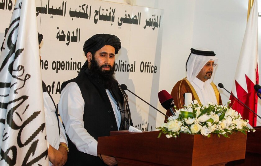 Taliban opens political office in Doha