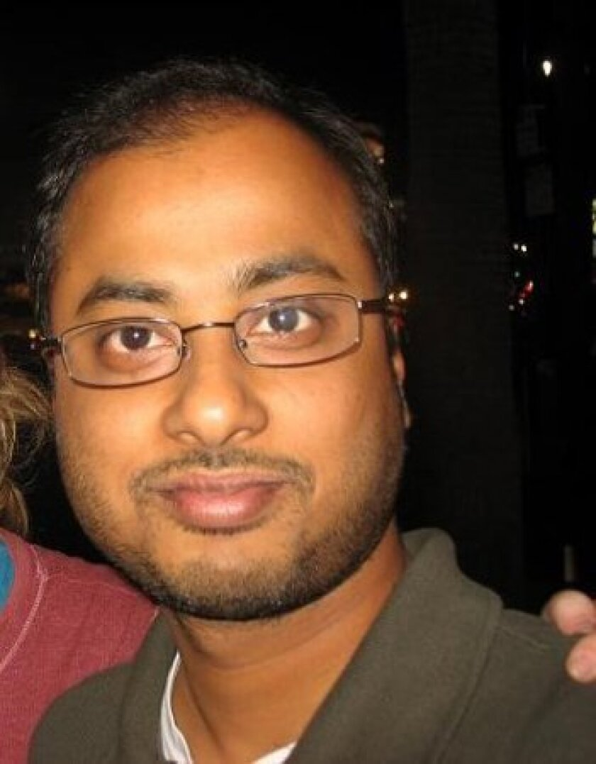 """This undated photo shows Mainak Sarkar, who police say carried out a murder-suicide at the University of California, Los Angeles on Wednesday, June 1, 2016. Sarkar had a """"kill list"""" with multiple names that included professor Bill Klug, a woman found dead in a Minneapolis suburb and another UCLA pr"""