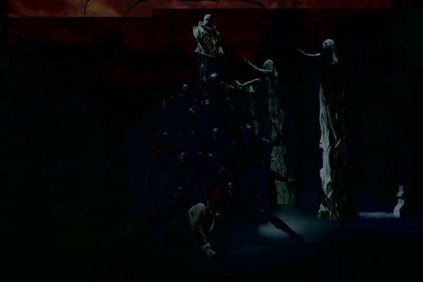 """Fotografía cedida hoy, miércoles 7 de diciembre de 2016, por la compañía teatral Don Juan, que muestra una escena de la obra musical sobre """"Don Juan Tenorio"""", que llegará el 2017 a México luego de congregar a más de 50.000 espectadores en la Gran Vía de Madrid (España), donde sorprendió por modernizar la obra a ritmo de jazz, blues y rap, informó hoy la promotora. EFE/DON JUAN/SOLO USO EDITORIAL"""