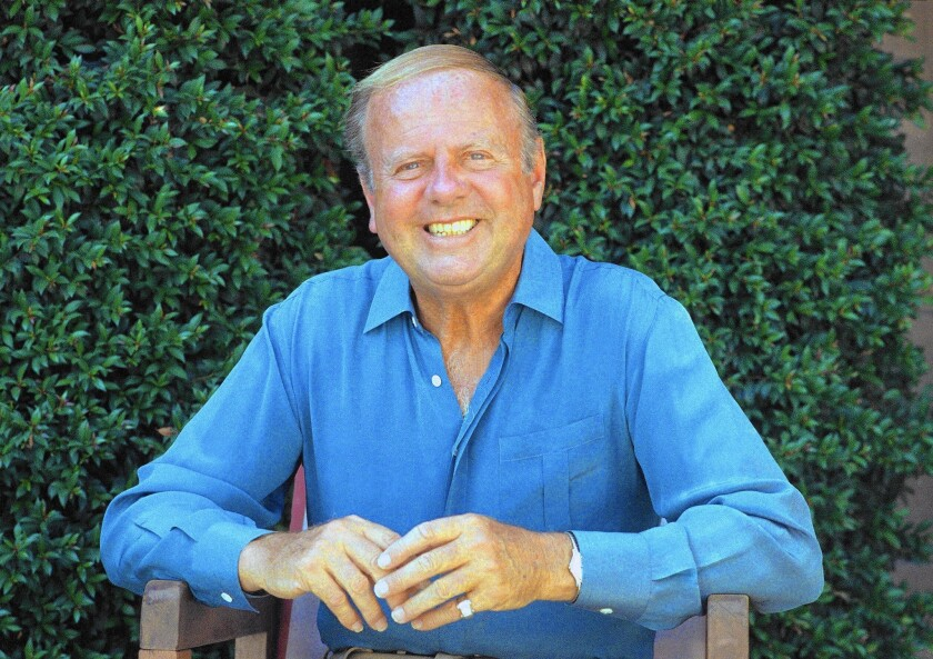 Dick Van Patten in 1987; he died Tuesday at age 86.
