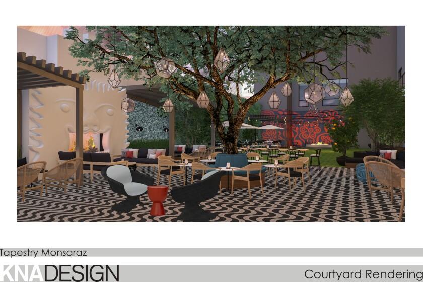 Monsaraz courtyard