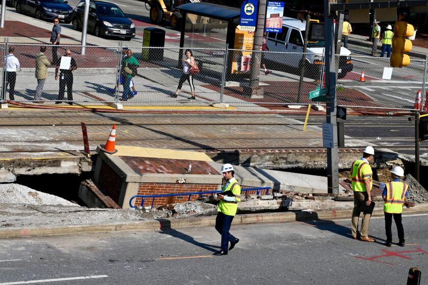 Baltimore sink hole