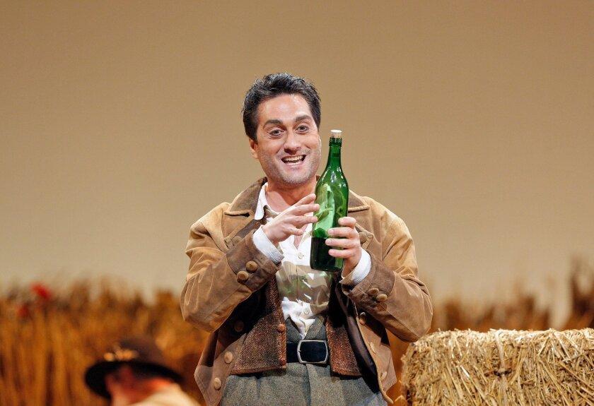 "Tenor Giuseppe Filianoti is Nemorino in San Diego Opera's ""The Elixir of Love."" Photo: Cory Weaver"