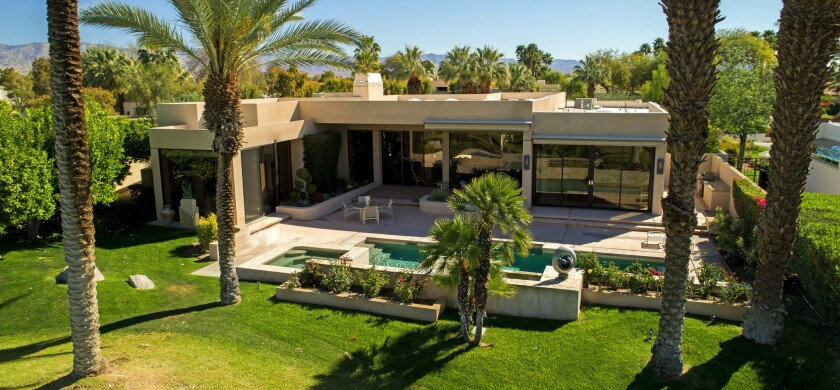 Annette Bloch, the widow of H&R Block co-founder Richard Bloch, has listed her one-story home in Rancho Mirage for sale at $1.975 million.