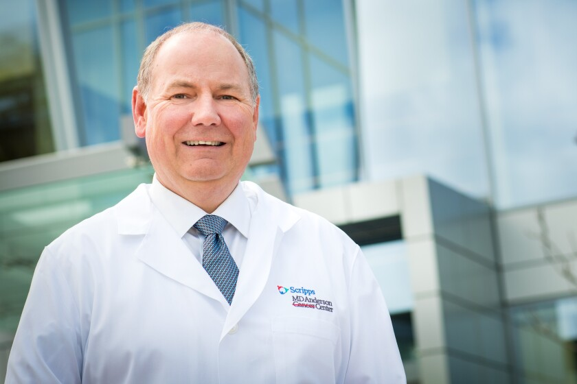 Thomas Buchholz, medical director of Scripps MD Anderson Cancer Center.