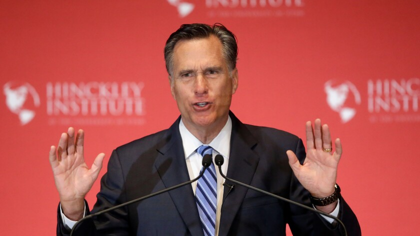 Mitt Romney, the 2012 GOP presidential nominee, unsuccessfully sought to recruit a third-party candidate to run against Donald Trump in the fall.