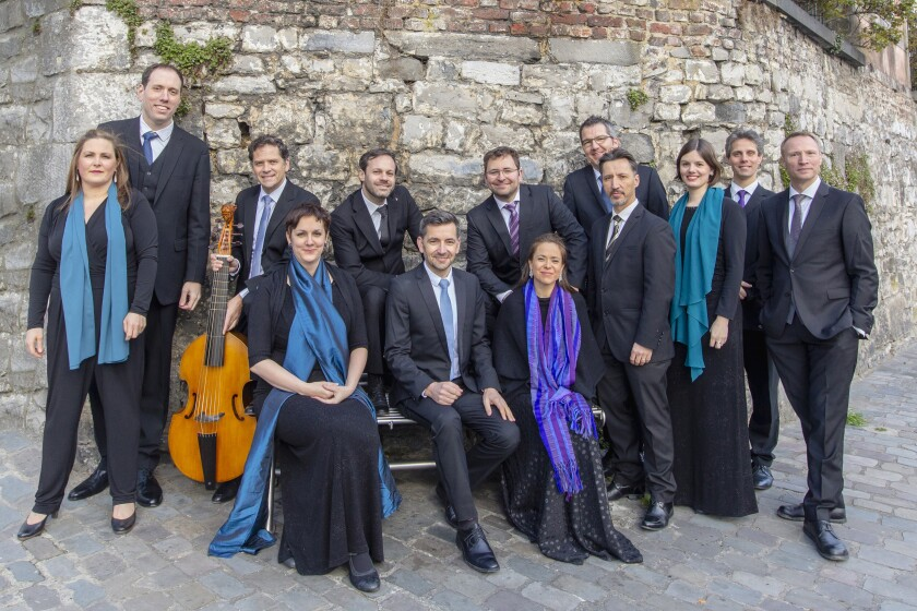San Diego Early Music presents Vox Luminis, Oct. 27 at St. James by-the-Sea Church