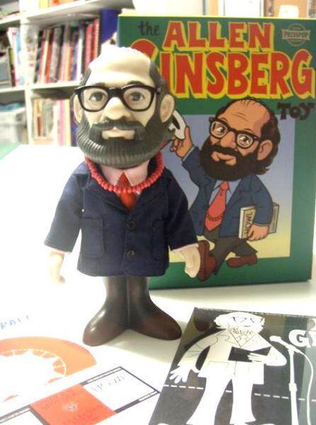 Allen Ginsberg bobblehead
