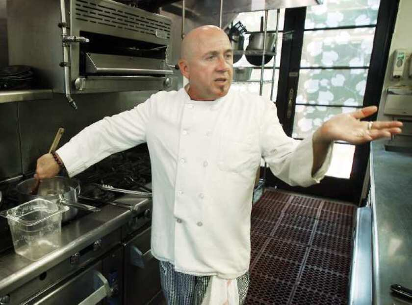 Chef Laurent Quenioux