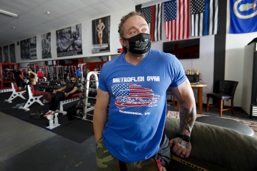 MetroFlex Gym owner Lou Uridel.