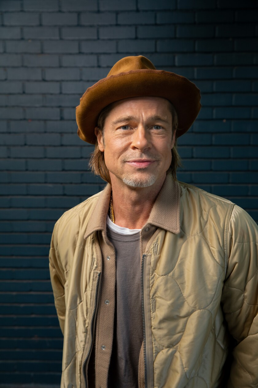 "Brad Pitt, Oscar-nominated for his role in ""Once Upon a Time ... in Hollywood."""